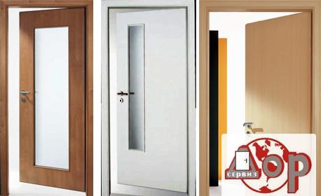 Интериорна дървена врата с покритие ламинат, плюс транспорт