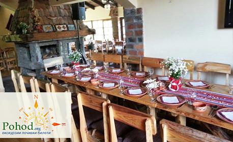 Посети Етно село Срна, Темския манастир и фестивала на сушеницата в Цариброд на 18 Ноември