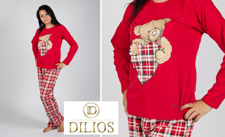 София Дамска пижама Дамска пижама от 100% памук - модел