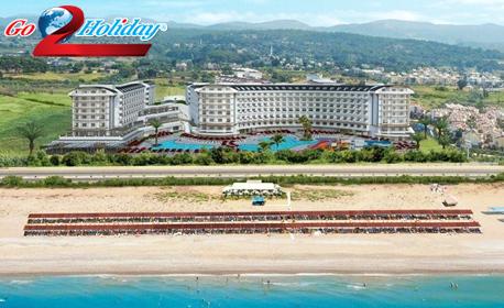 Ранни записвания за пролетна или лятна почивка в Анталия! 7 нощувки на база All Inclusive в хотел 5*, плюс самолетен билет