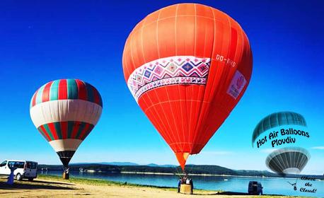 Панорамно издигане с балон за двама - без или със дете до 14г