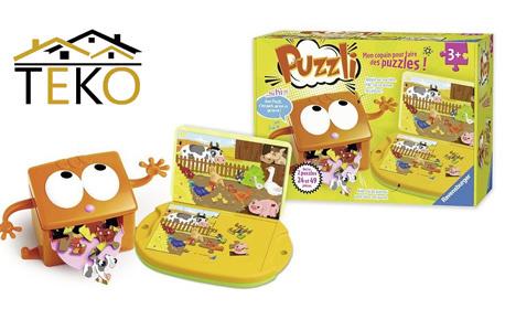 8dc73844bfa За децата Комплект детски пъзели 2 в 1 Ravensburger Puzzles