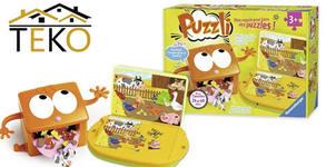 Комплект детски пъзели 2 в 1 Ravensburger Puzzles