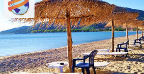 Почивка в Гърция през Юни! 4 нощувки със закуски и вечери в Хотел Stavros Beach*** в Ставрос