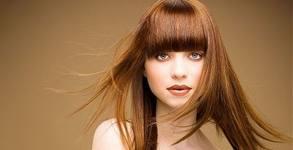 Полиране на коса, маска и изправяне, или терапия против косопад или за възстановяване, плюс ежедневна прическа
