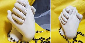 Комплект за реална отливка на вашите ръце за увековечаване на спомени