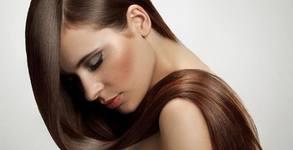 Полиране на коса - за премахване на цъфтящи краища, плюс измиване и маска