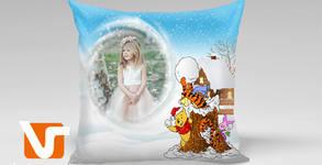 Декоративна възглавничка с ваша любима снимка