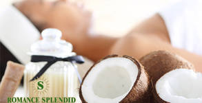 """90 минути релакс! SPA пакет """"Кокосово вълшебство"""" - пилинг, масаж на лице и гръб с био кокосово масло и ампула"""