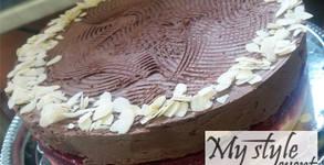 """Шоколадова торта """"Романтика"""", Торта """"Сърце"""" или Чийзкейк, плюс безплатна доставка"""