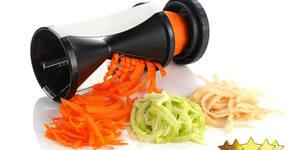 Резачка за зеленчуци на ивици и спираловидна форма Spiral Slicer