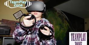 Рожден ден за до 15 деца с 90 минути игри във виртуална реалност