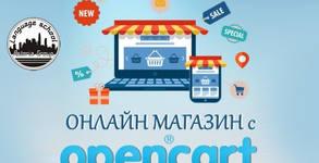 "Двумесечен онлайн курс OpenCart ""Как да изработим онлайн магазин"""