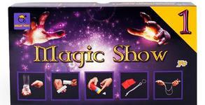 Магически парти комплект с фокуси, песни, книжки и украса