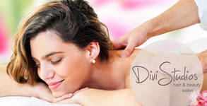 Масаж по избор - релаксиращ на гръб, или на цяло тяло с етерични масла или топли камъни