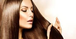 Ламиниране на коса с кератинова терапия, плюс подстригване и оформяне със сешоар