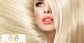 Измиване на коса с продукти Matrix, плюс оформяне - без или със подстригване и боядисване