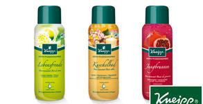 Комплект от 3 броя натурални арома-пяни за вана Kneipp