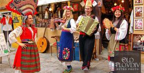 Ретро фотосесия с автентични костюми в единственото Ретро фото в Пловдив