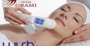 Почистване на лице с WISHPro® масаж, маска и успокояващ и възстановяващ комплекс, плюс арома парна баня