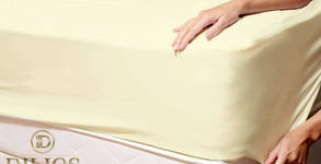 Чаршаф от трико с ластик, размер и цвят по избор