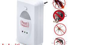 Ултразвуков уред против насекоми и гризачи Pest Reject