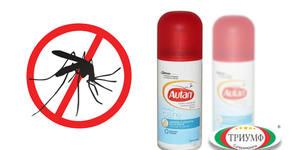 2 броя спрей против комари Autan Family Care