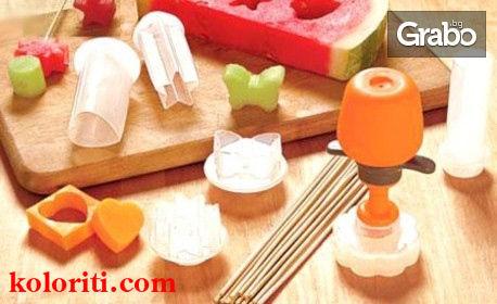 Комплект за декорация Pop Chef с 6 формички