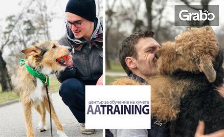 """6-седмична програма за обучаване на куче """"Най-добър приятел"""""""