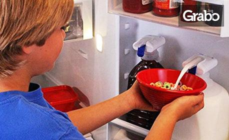 Удобна автоматична помпа за вода, мляко и напитки Magic Tap