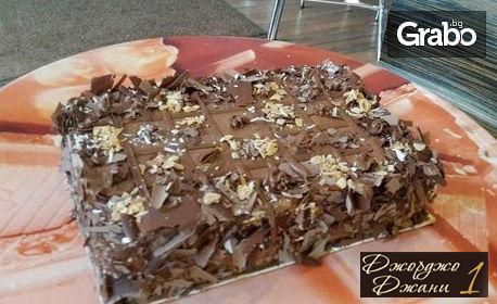 Палачинкова торта по избор - боровинкова или шоколадова