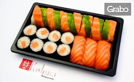 Суши сет с 19, 35 или 56 хапки