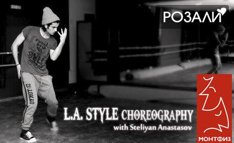 2 посещения на LA R'N'B Choreography или Капоейра