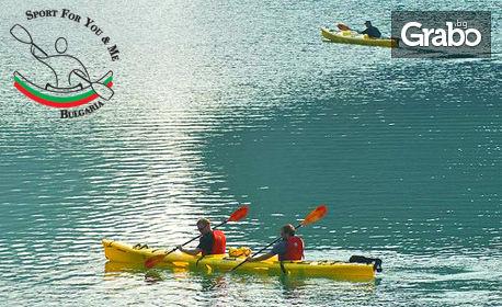 С кану-каяк в езерото Панчарево! Разходка или персонална...