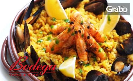Паеля ала Бодега - кулинарната атмосфера на Испания