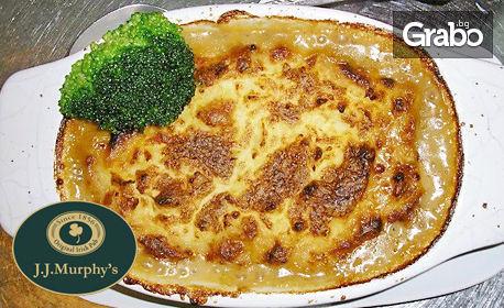 Овчарски пай с телешко мляно месо - по ирландска рецепта