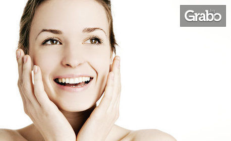 Терапия за лице против акне с ръчно почистване и ултразвуков пилинг