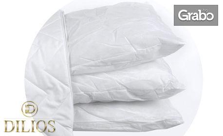 Възглавница от микрофибър 3 в 1 с три вътрешни възглавници за комбинация по избор