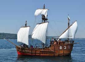Ветроходен кораб Pinta Varna