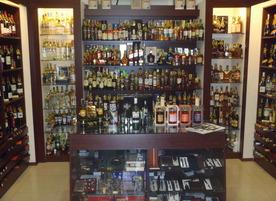 Магазин за алкохол и захарни изделия Fireball