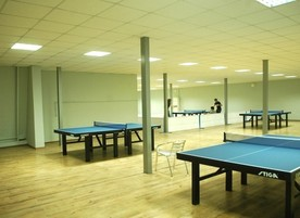 Зала за тенис на маса Iron Ball