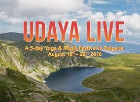 Йога фестивал Udaya Live