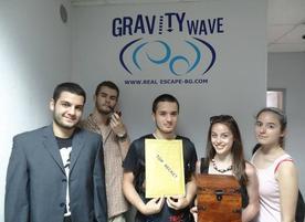 Escape room Gravity wave