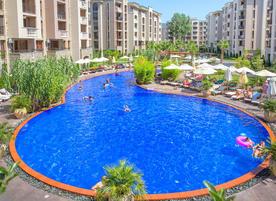 Апартаментен комплекс Каскадас Фемили Резорт
