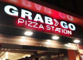 Grabgo pizza station