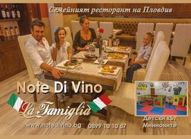 Note Di Vino - La famiglia