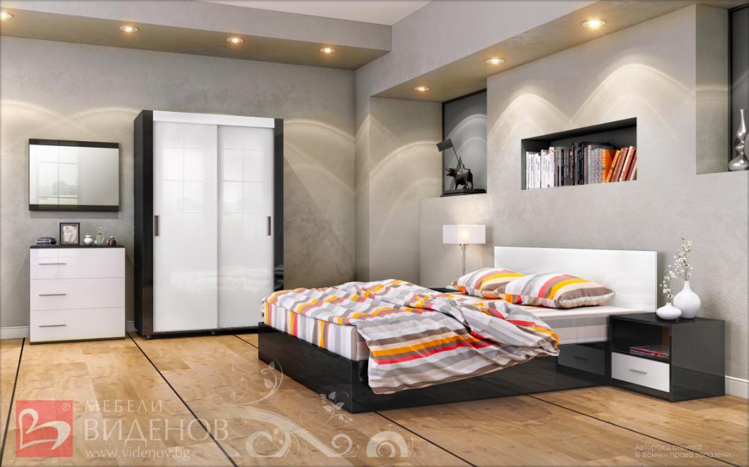 обзаведете се със спален комплект жаклин S спалня нощни шкафчета