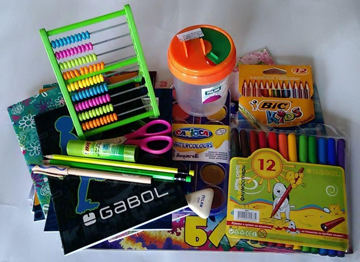 Резултат с изображение за моливи, химикали, гума, бои