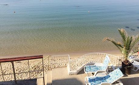 Късно лято край Несебър! 2, 3 или 5 нощувки със закуски, без или със вечери - на самия морски бряг