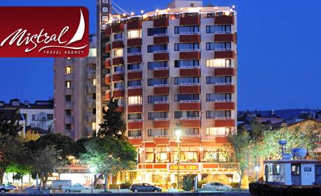 Нова година в Чанаккале,Турция! 3 нощувки със закуски и вечери, една от които празнична, в хотел 4*